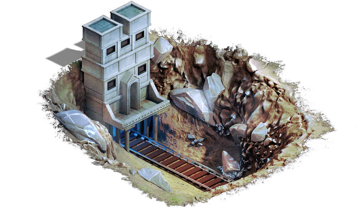 Metal Mine - What do Buildings do?